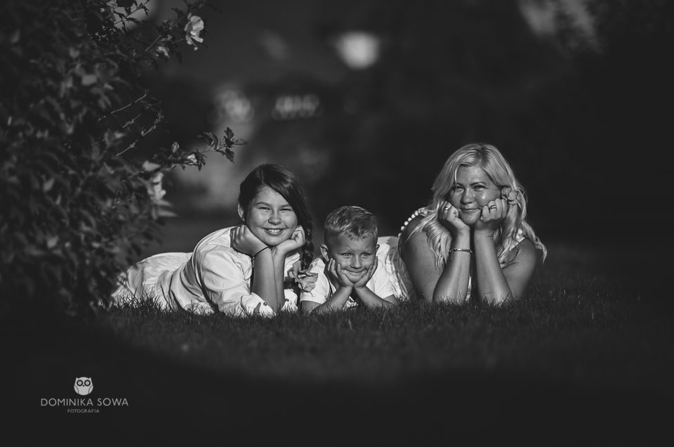 Rodzinna sesja lifestyle z Agnieszką, Rozalią i Danielem