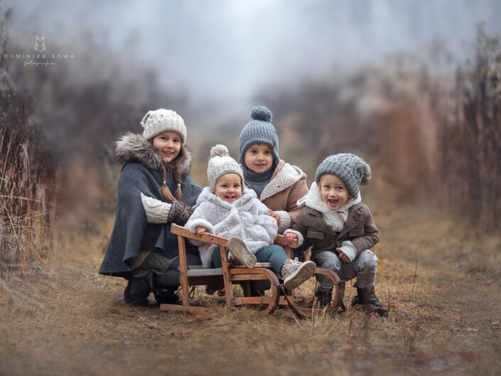Sesja zimowa w plenerze - Dominika Sowa Fotografia