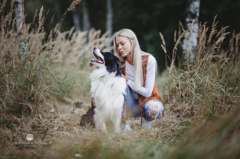 Leśnymi ścieżkami – Monika i Cosmo