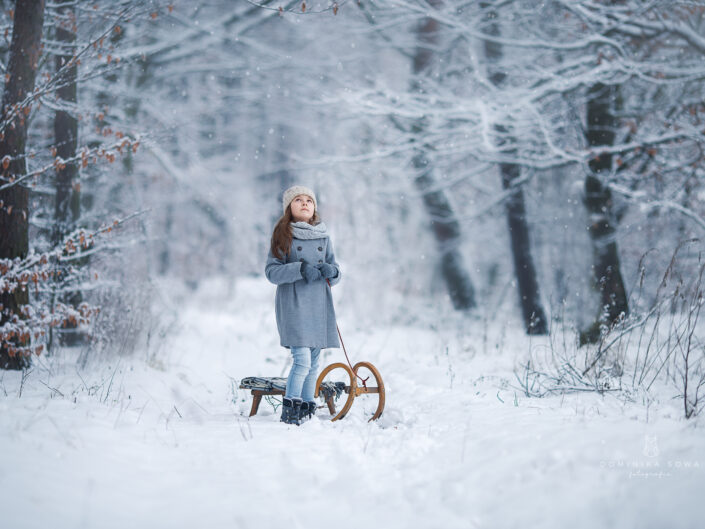 Sesja zimowa - Dominika Sowa Fotografia